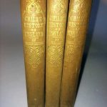 A Child's History of England 3 Vols. Spines