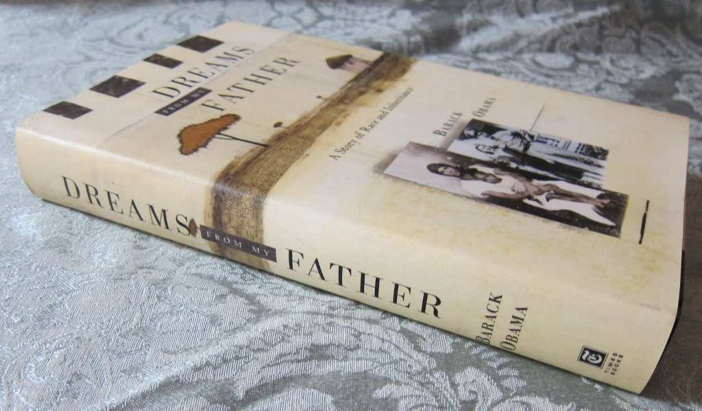 Dreams From My Father Front Cover and Spine